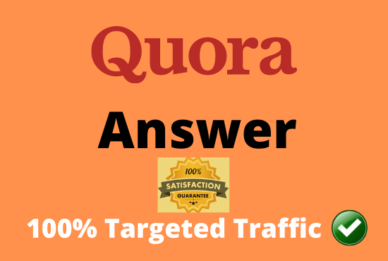 Give you 20 Quora Answer For Getting Huge traffic