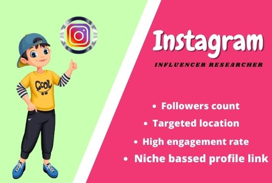Find top best Instagram influencer according to your niche