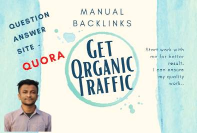 I will give Question Answer Backlinks from Quora