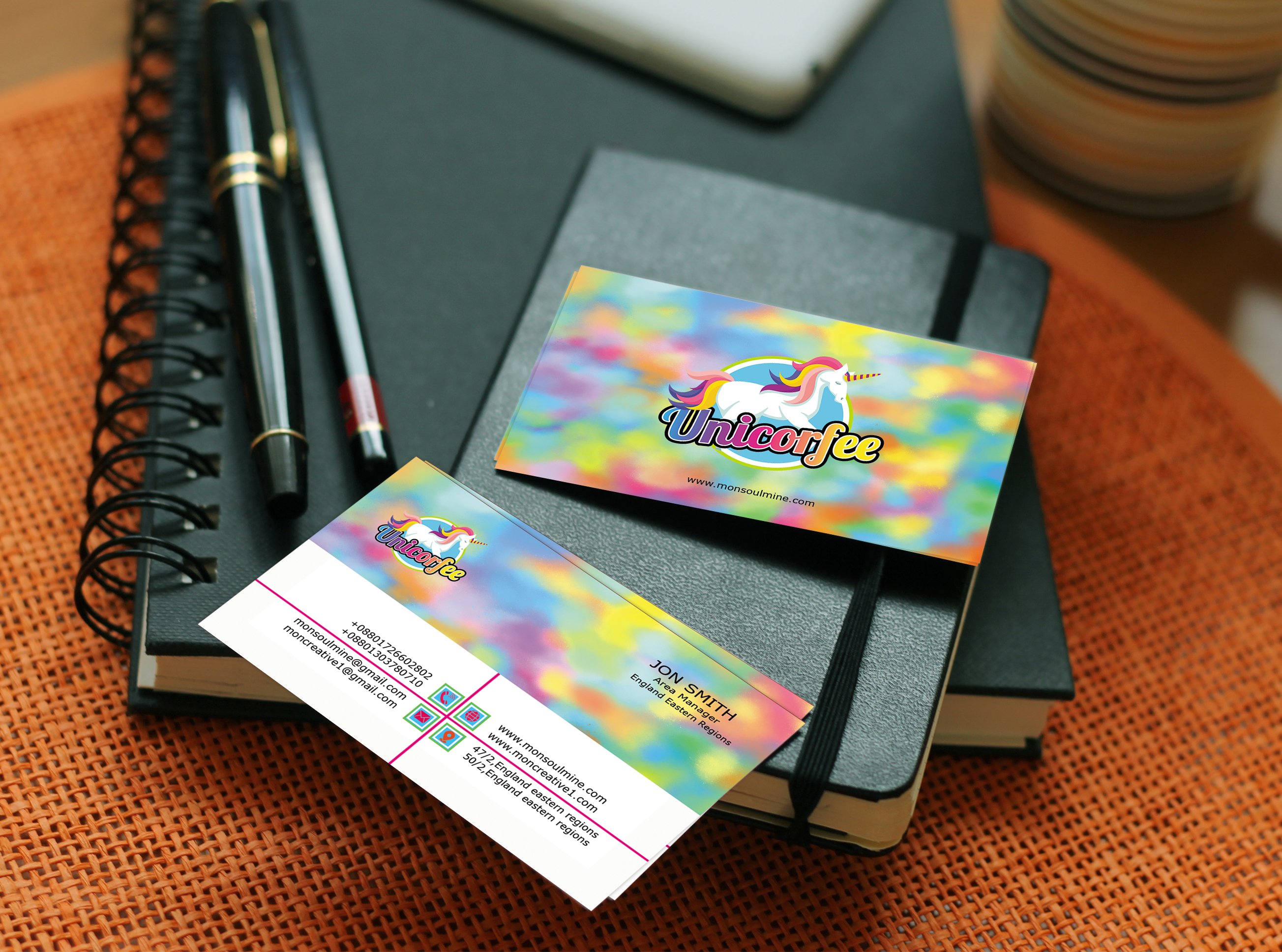 I will do Business card or Visiting card design for your Company