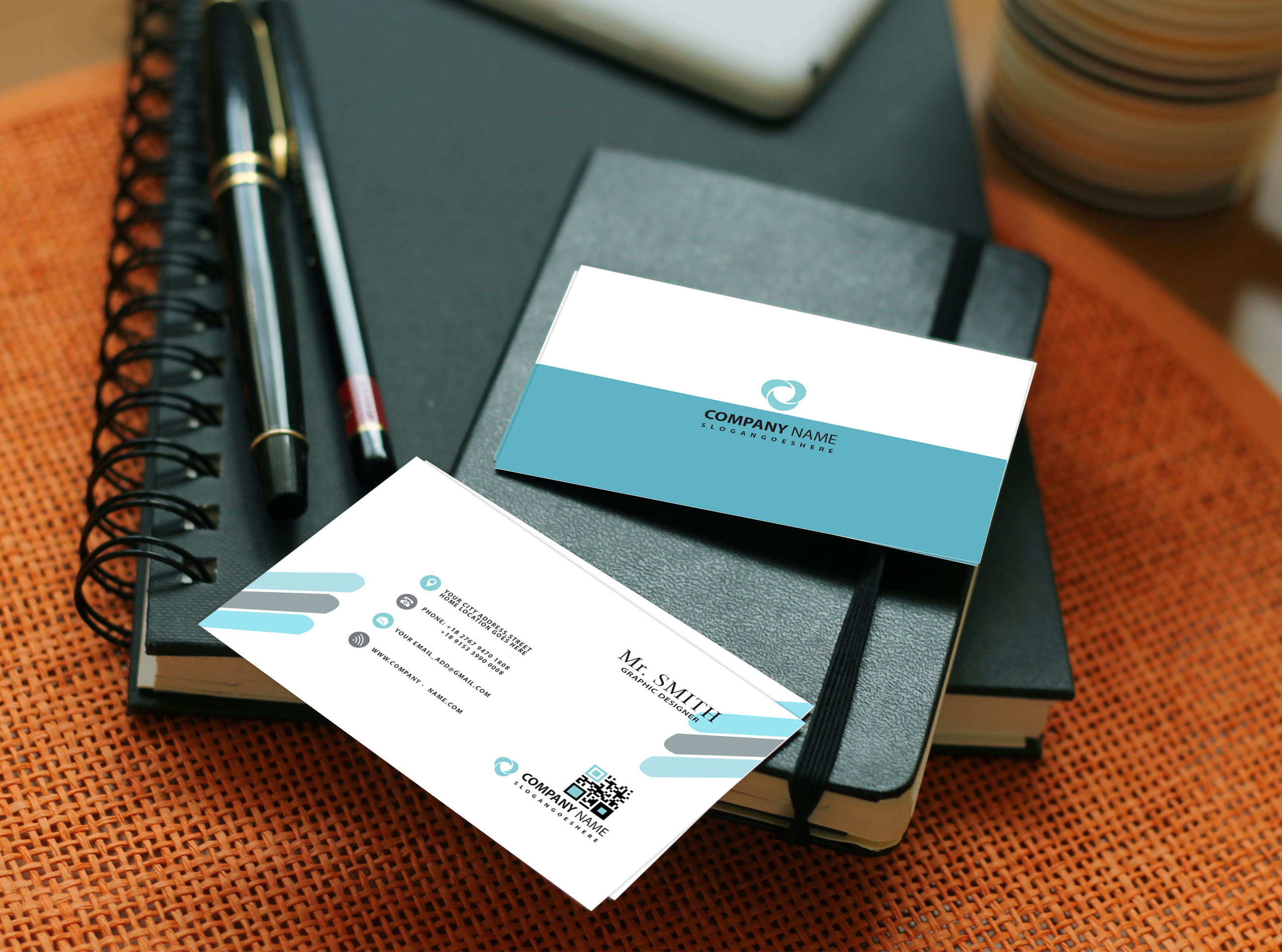 I will create professional business card design with two concepts