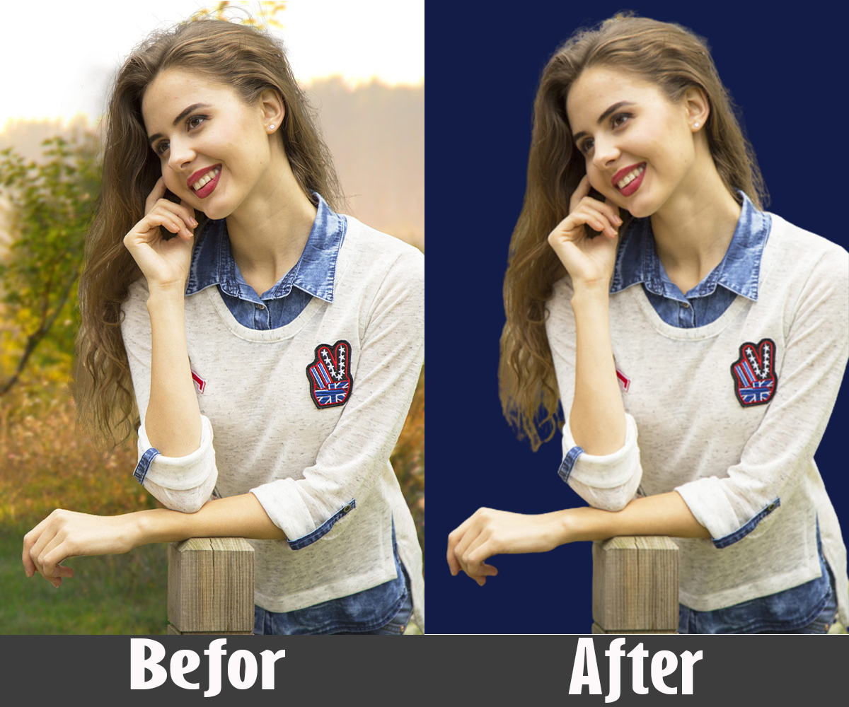 I will remove background, clipping path, color correction of any kind of image