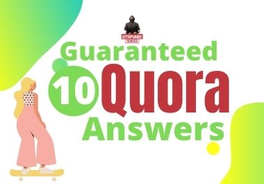 Guranteed targeted Traffic with 10 quora answers.