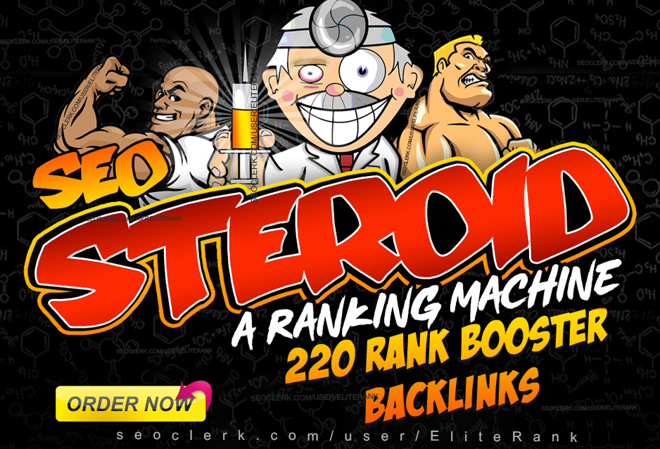 220 STEROID SEO extreme high trust flow authority SEO backlink google ranking