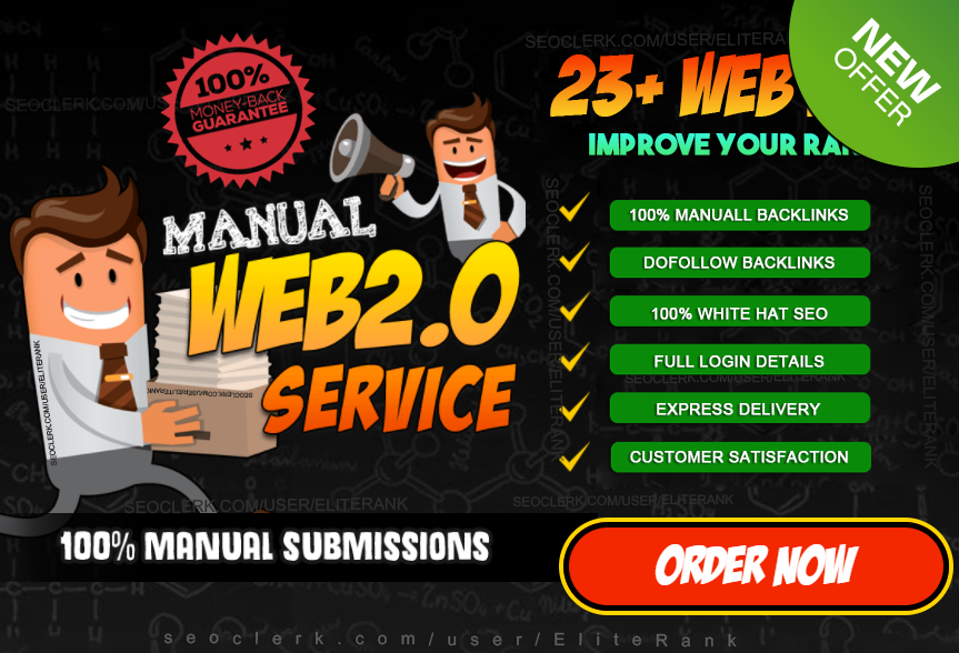 STEROID 23 manually web 2 0 super blogs with login contextual backlinks