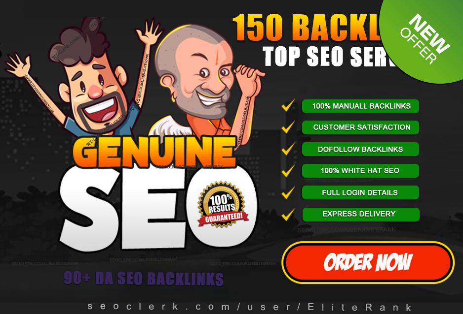 build 150 high quality dofollow SEO backlinks link building google top ranking