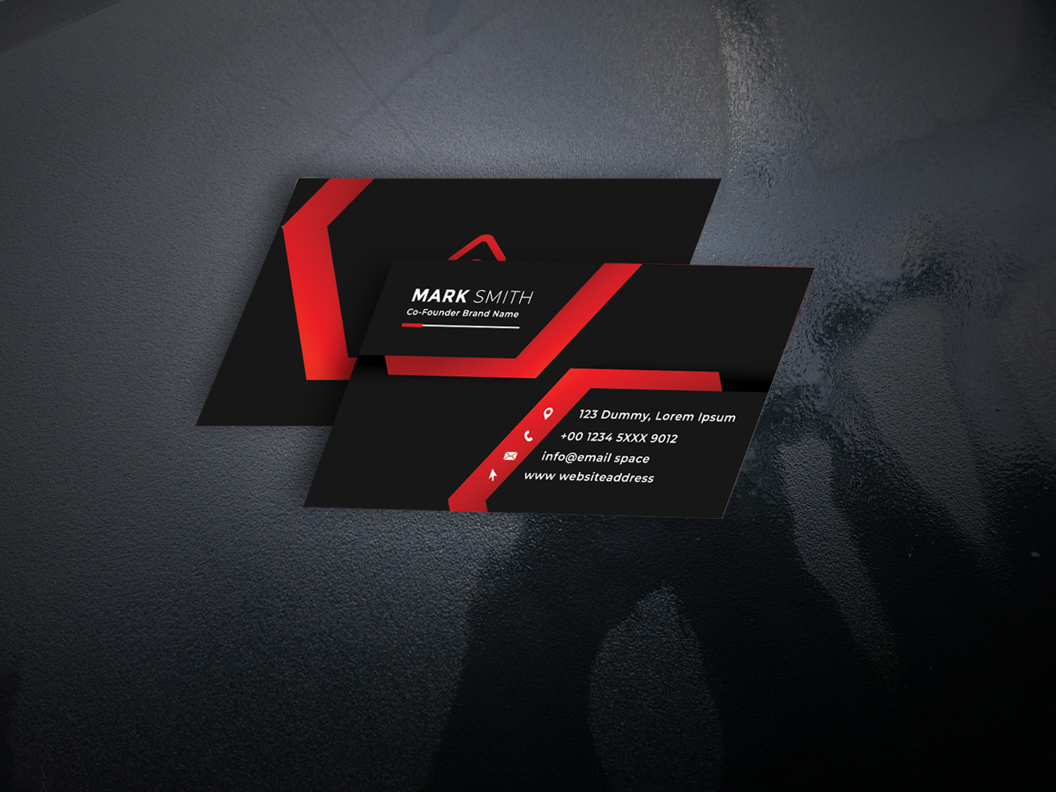 I will make fascinating business cards for your company