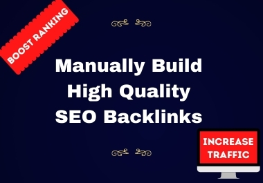 I will Provide High quality SEO backlinks,link building to rank your website on google