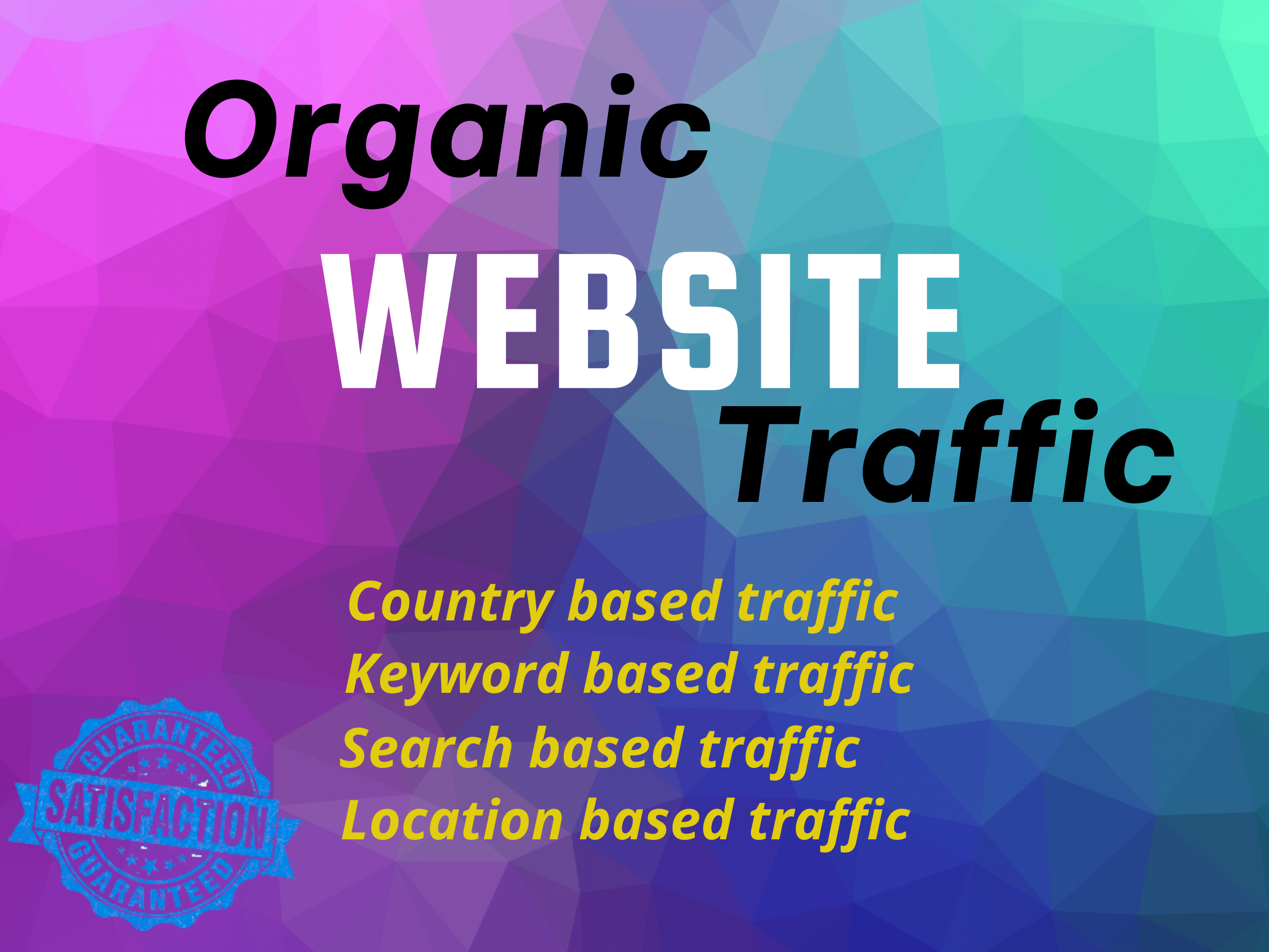 I will give you organic 500 traffic per day