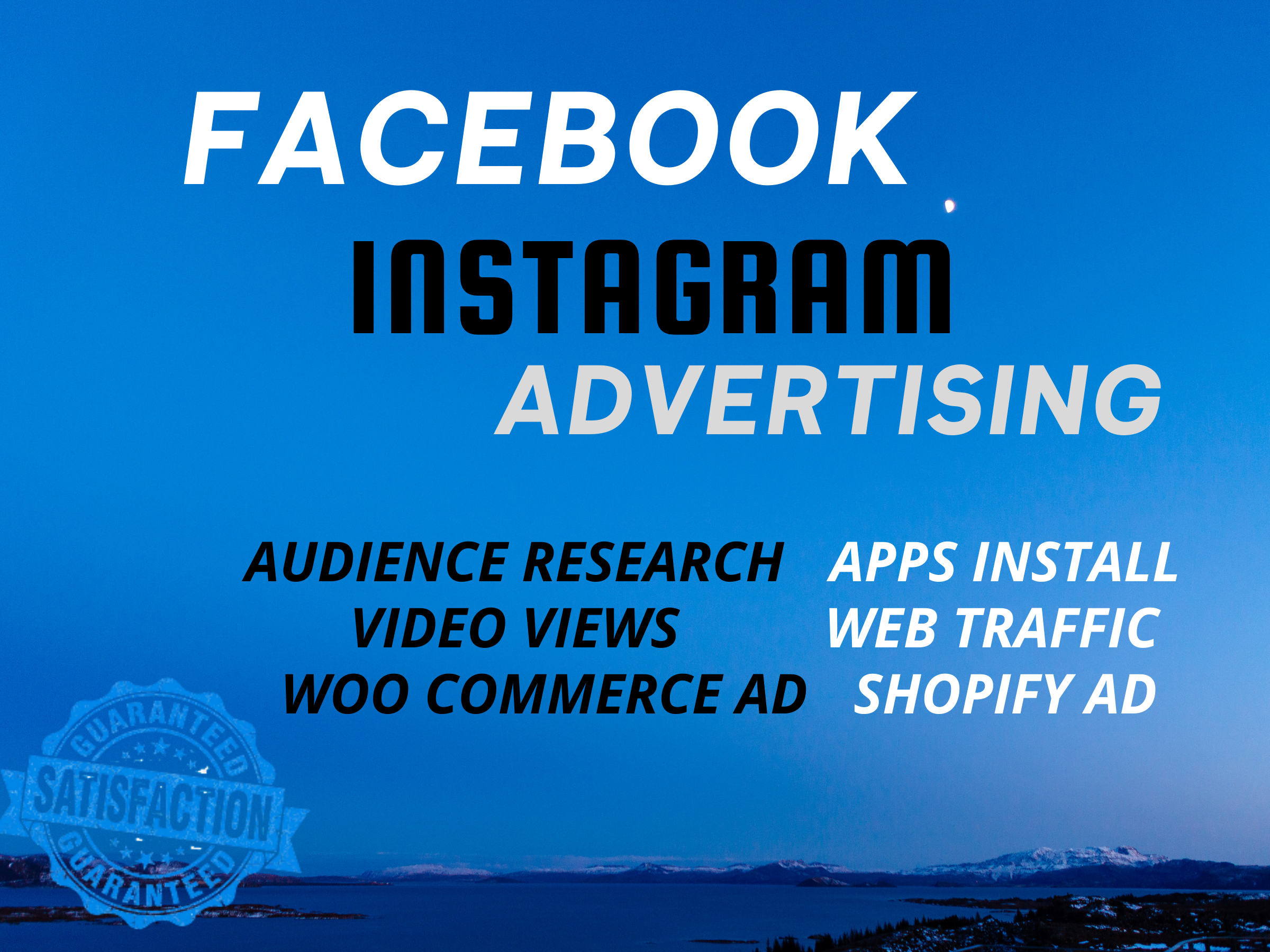 I will set up and manage your facebook instagram advertising