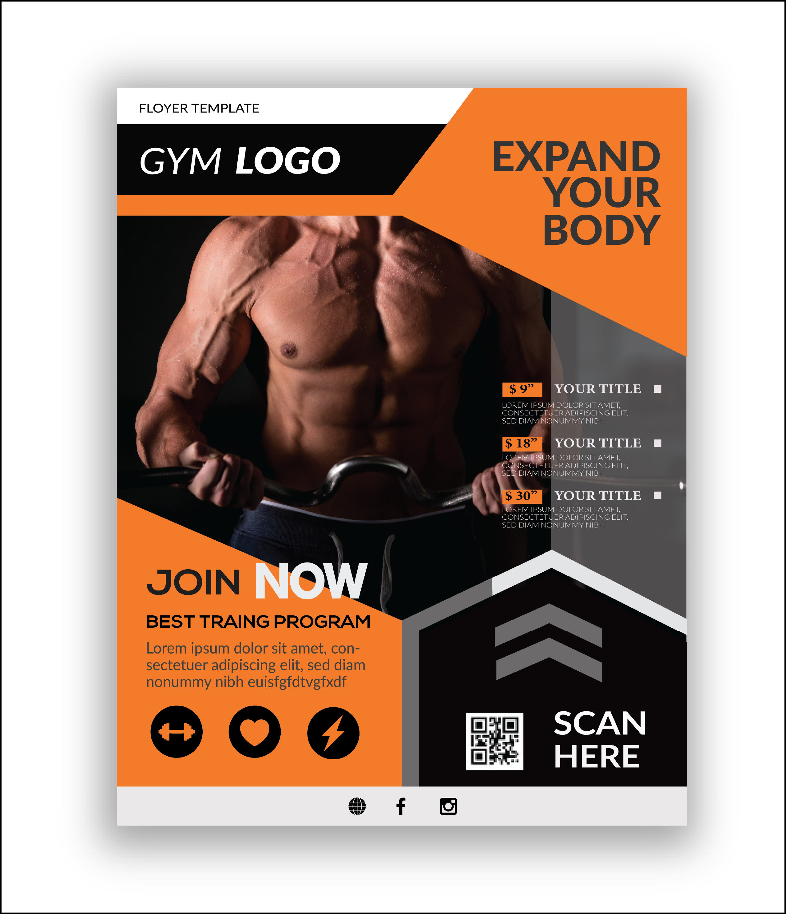 I will Design Flyer with in 12 hour