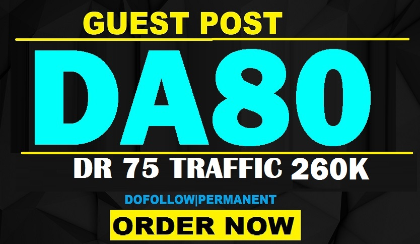 permanent 5 guest post on high da