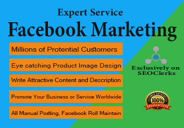 I will do Social Media Promotion Worldwide any Business