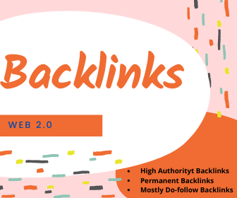 I am Offering 70 High Quality Web 2.0 Backlinks Services.