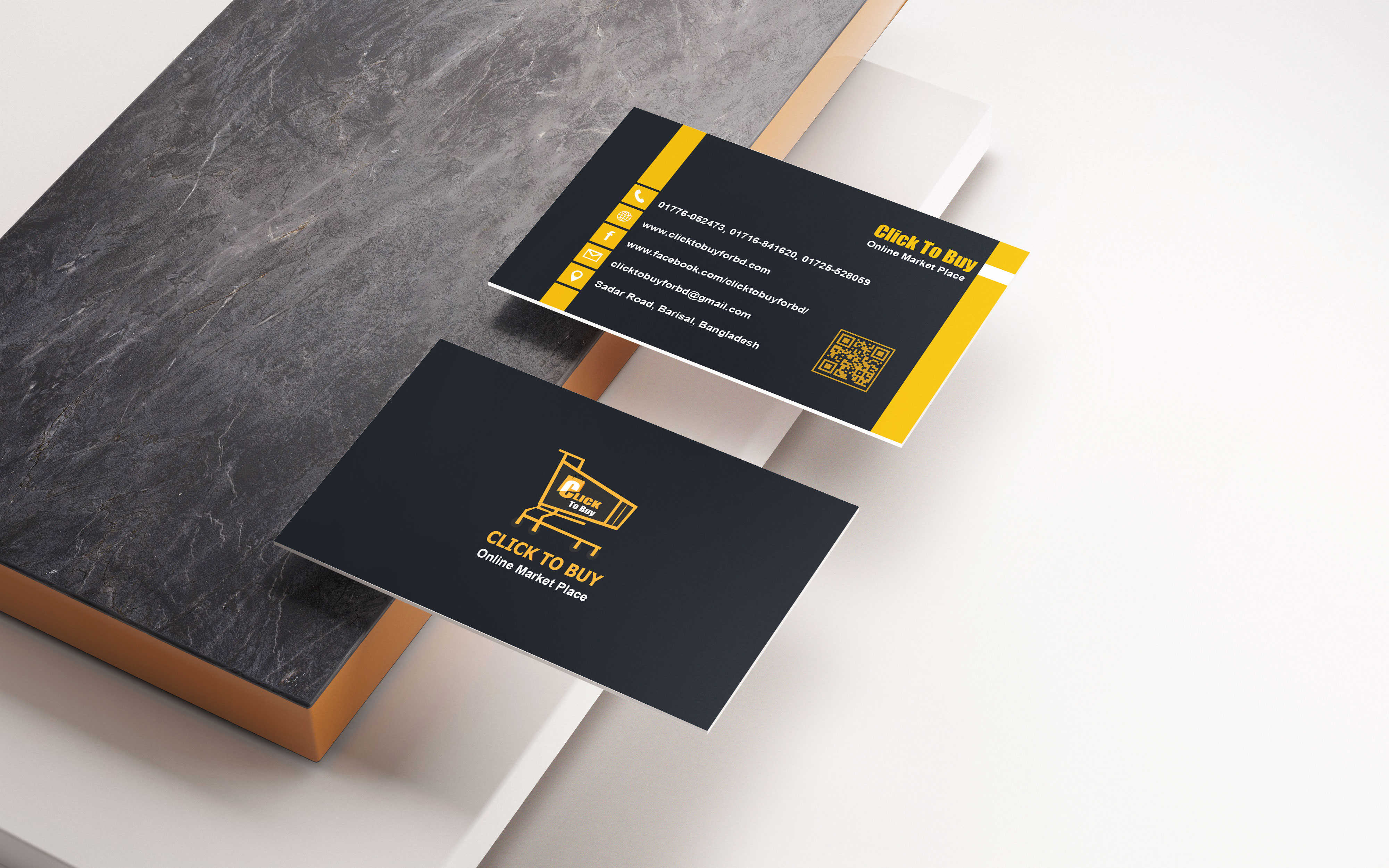 I will provide a perfect visiting card for your business