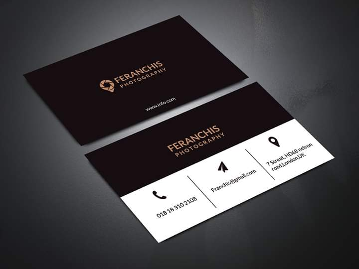 I will do professional & unique Business card design for you