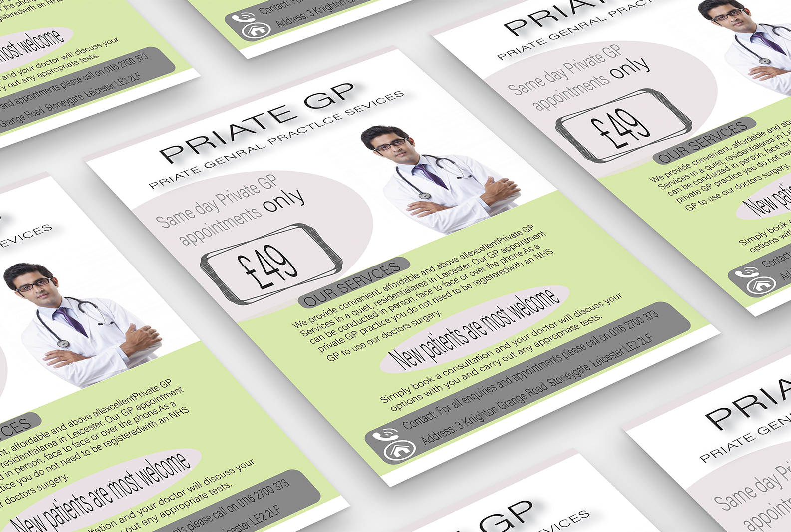 I will do design eye catching flyer design for your business