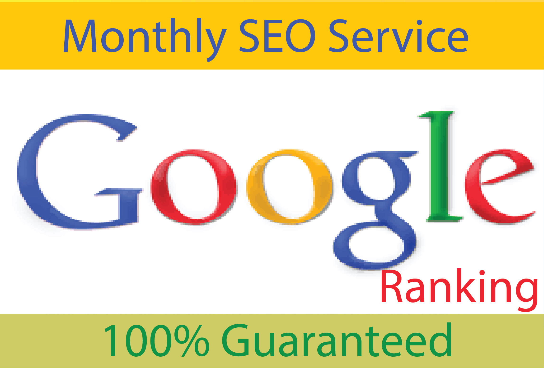 I will Provide Monthly Off Page SEO Service with Do follow backlinks