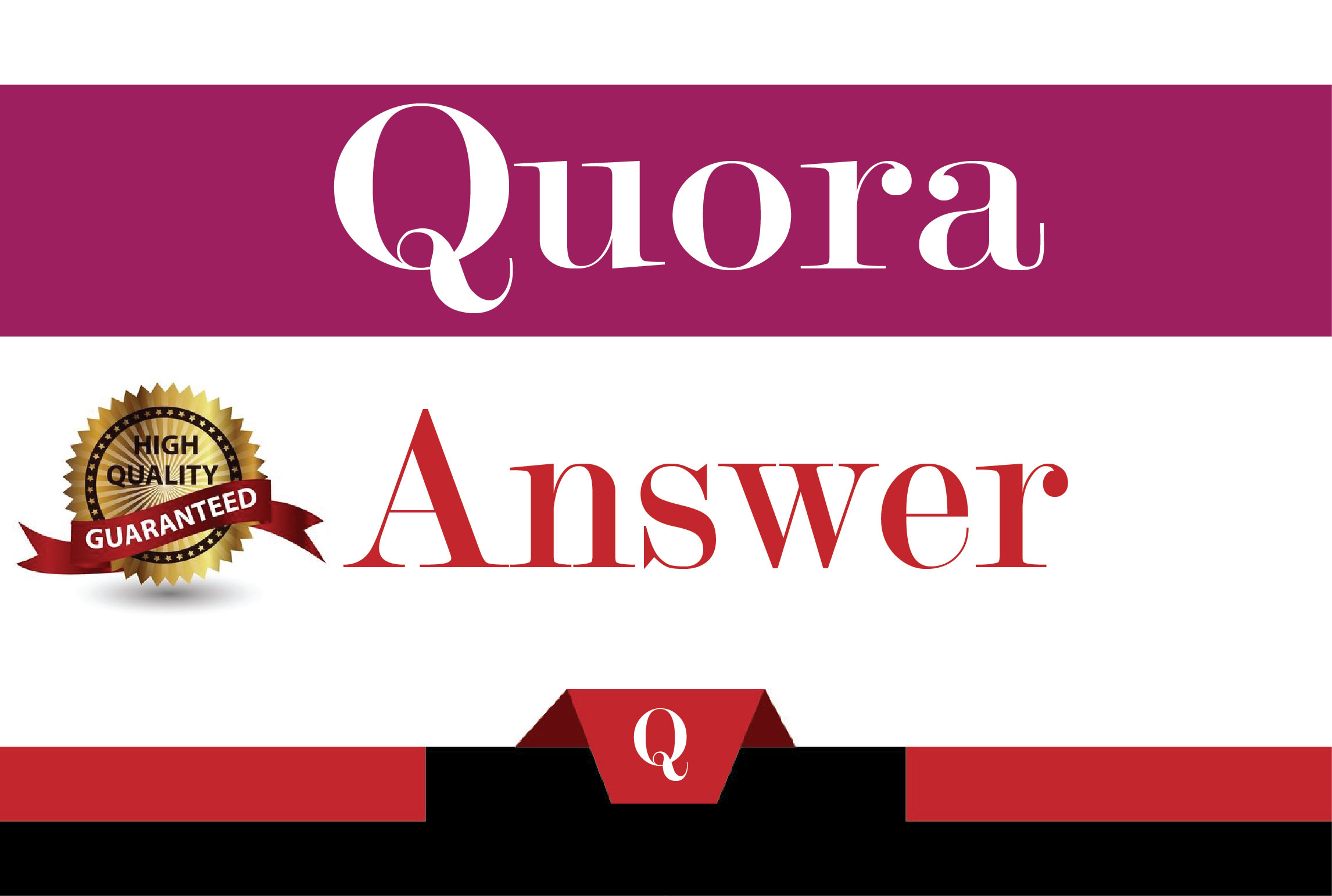 Guranteed Targeted Traffic with 50 High Quality Quora Answers