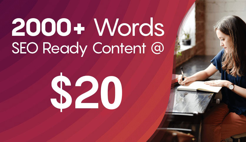 2000+ Words Of SEO Article For 20 - Product,  Blog Posts,  Medical,  Web Content