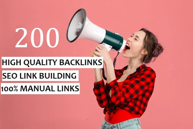 Create high quality SEO backlinks white hat manual link building