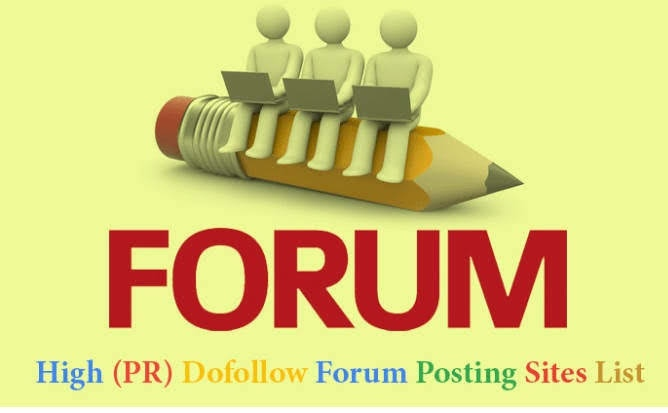 create Offering 50 Quality Forum Posting Backlinks Service for