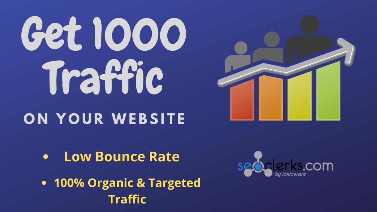 Get 1000+Traffic on your website in 2 days.