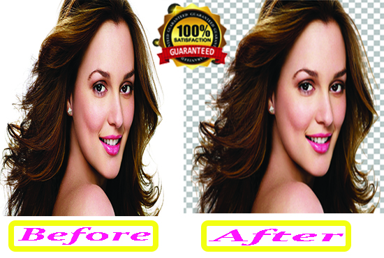 I will provide you Background Remove and Photo Retouch 4 Image 2 Hours