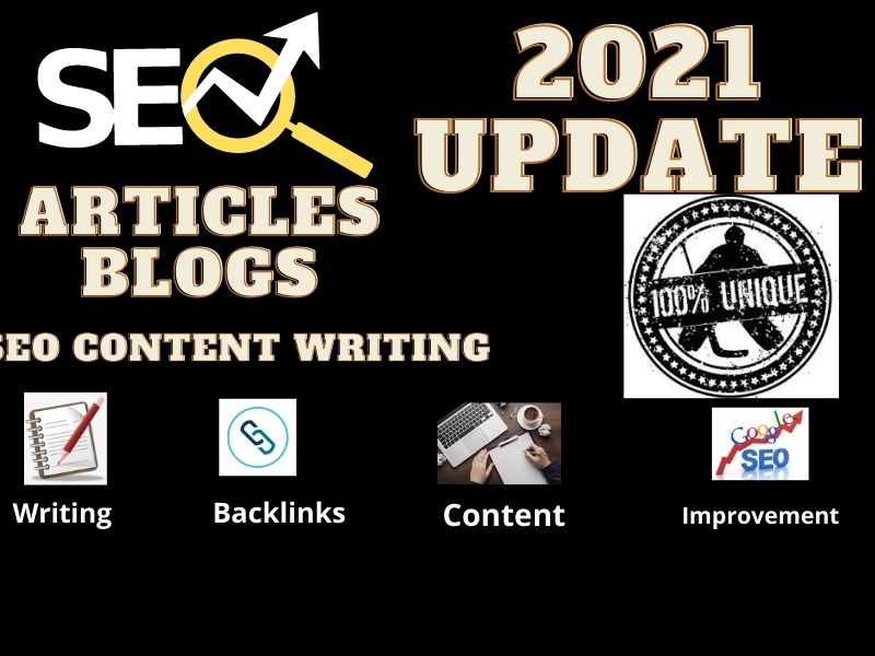 1000+ word seo base Website Article, blogs, contents writings with 2021 update