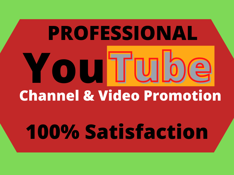 Youtube Promotion according to your targeted country and audience