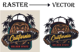 i will vector tracing or convert logo into vector
