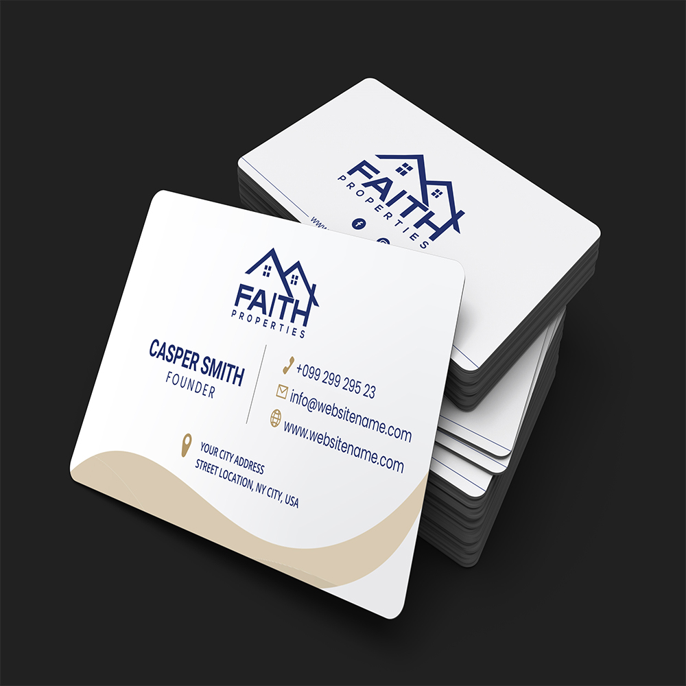 Professional and Modern Business Card Design in 6 hours