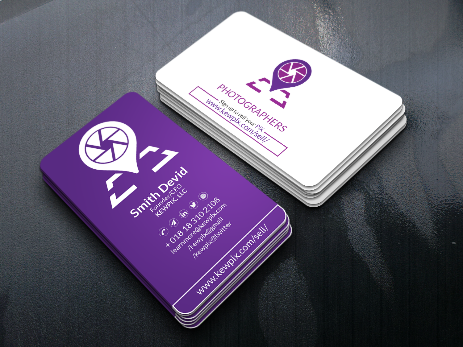 Business Card Designer for the last 5 years
