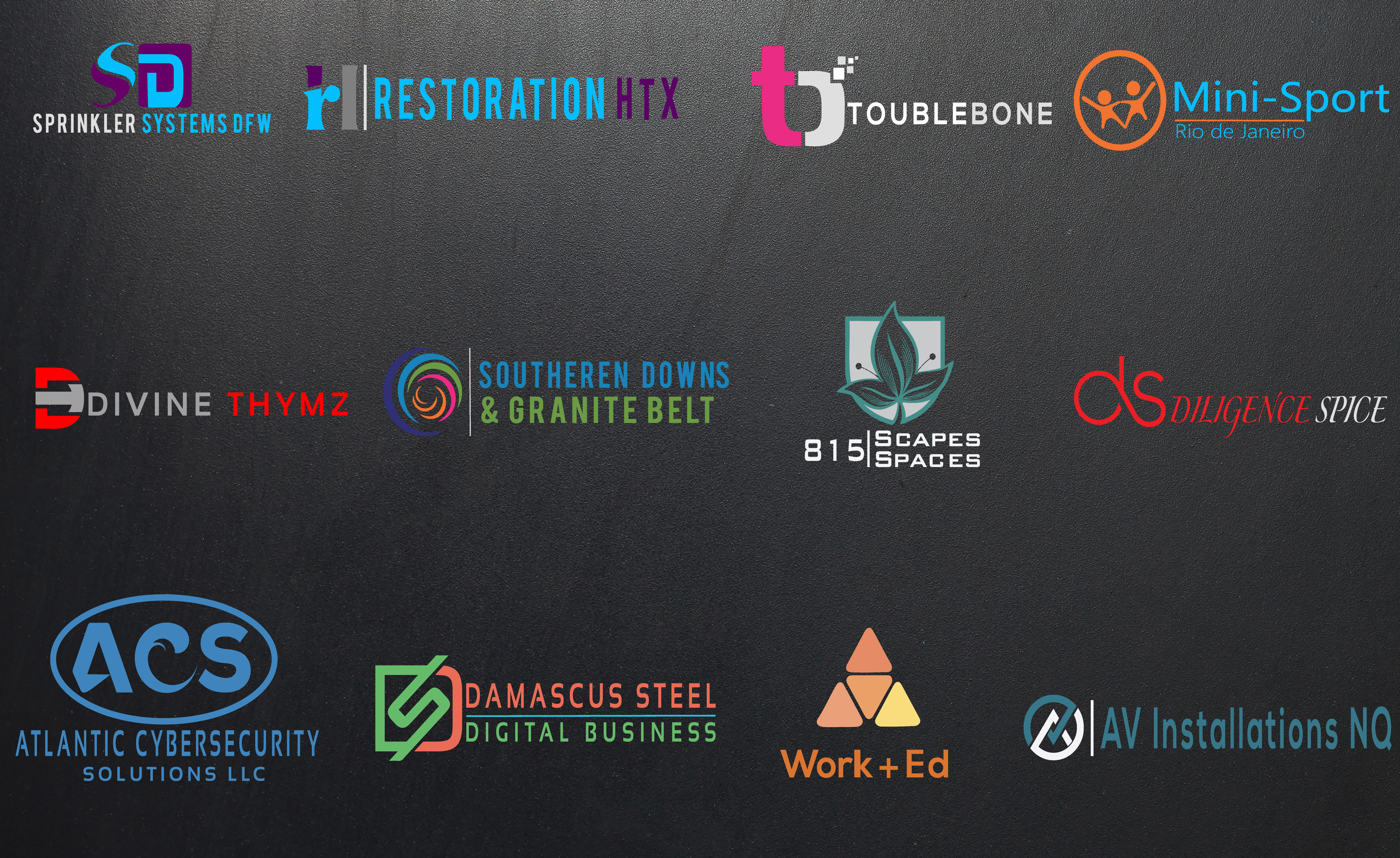 design a professional modern logo for your new brand
