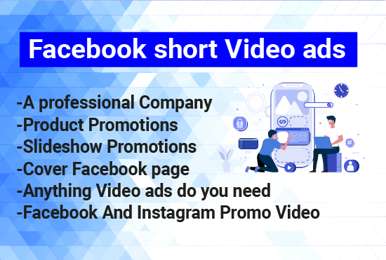setup Facebook short video ads any product