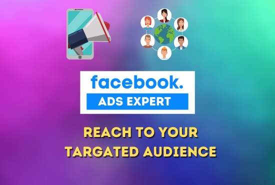 I will be your facebook ads manager to promote ads campaign