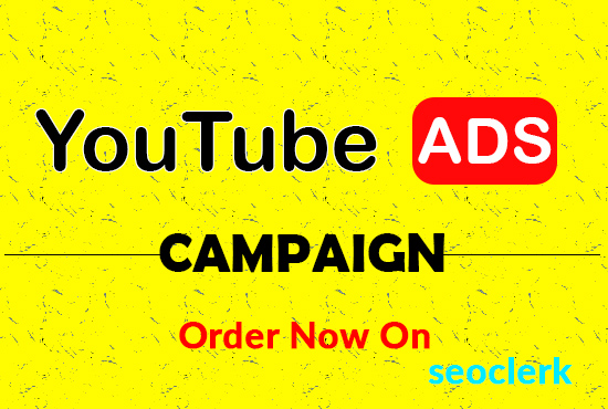 I will run ads campaign for youtube video promotion