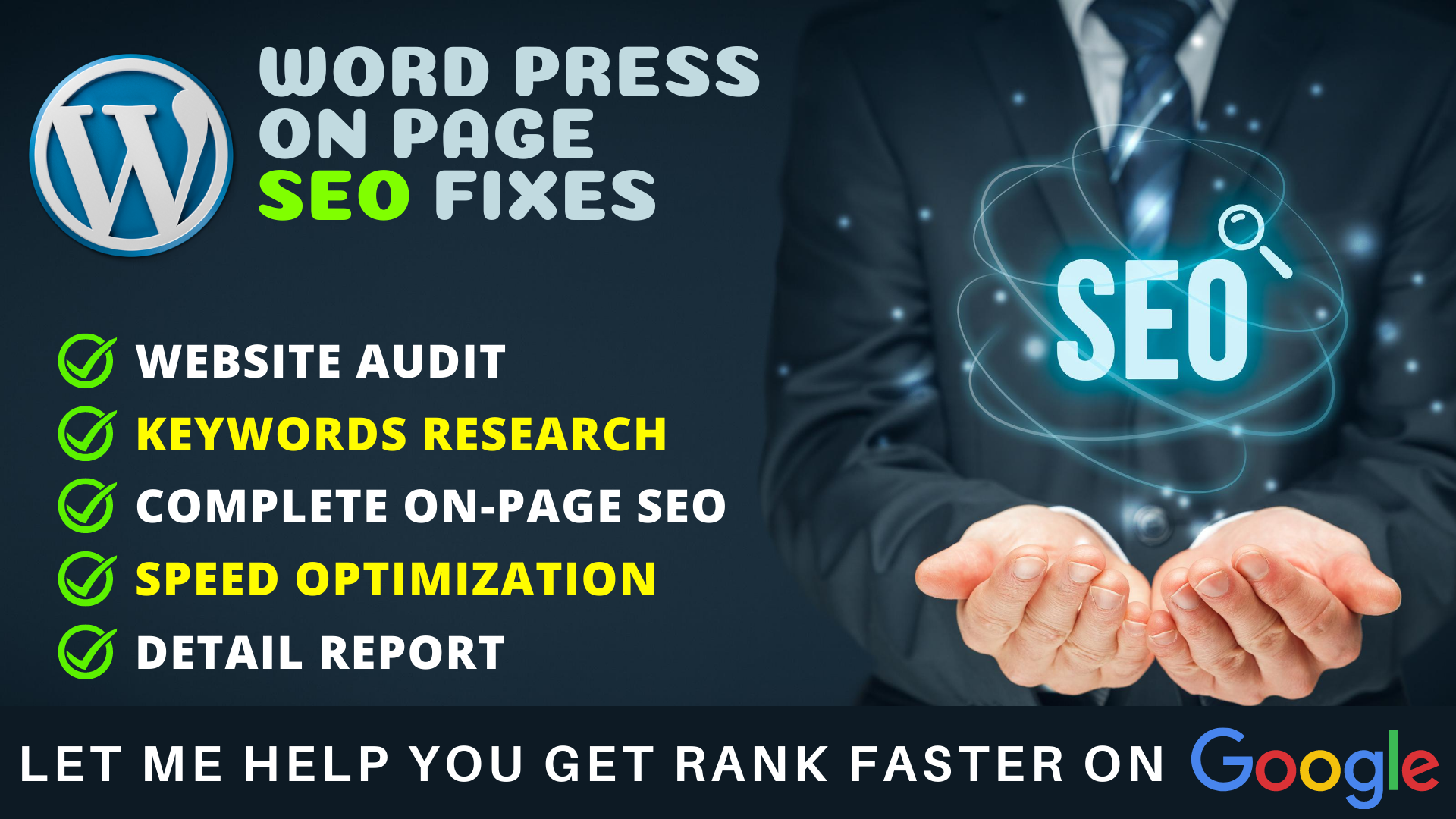 I will rank your website doing onpage SEO