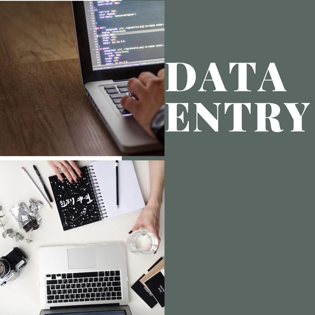 Data entry,  research and formatting for 1 hour