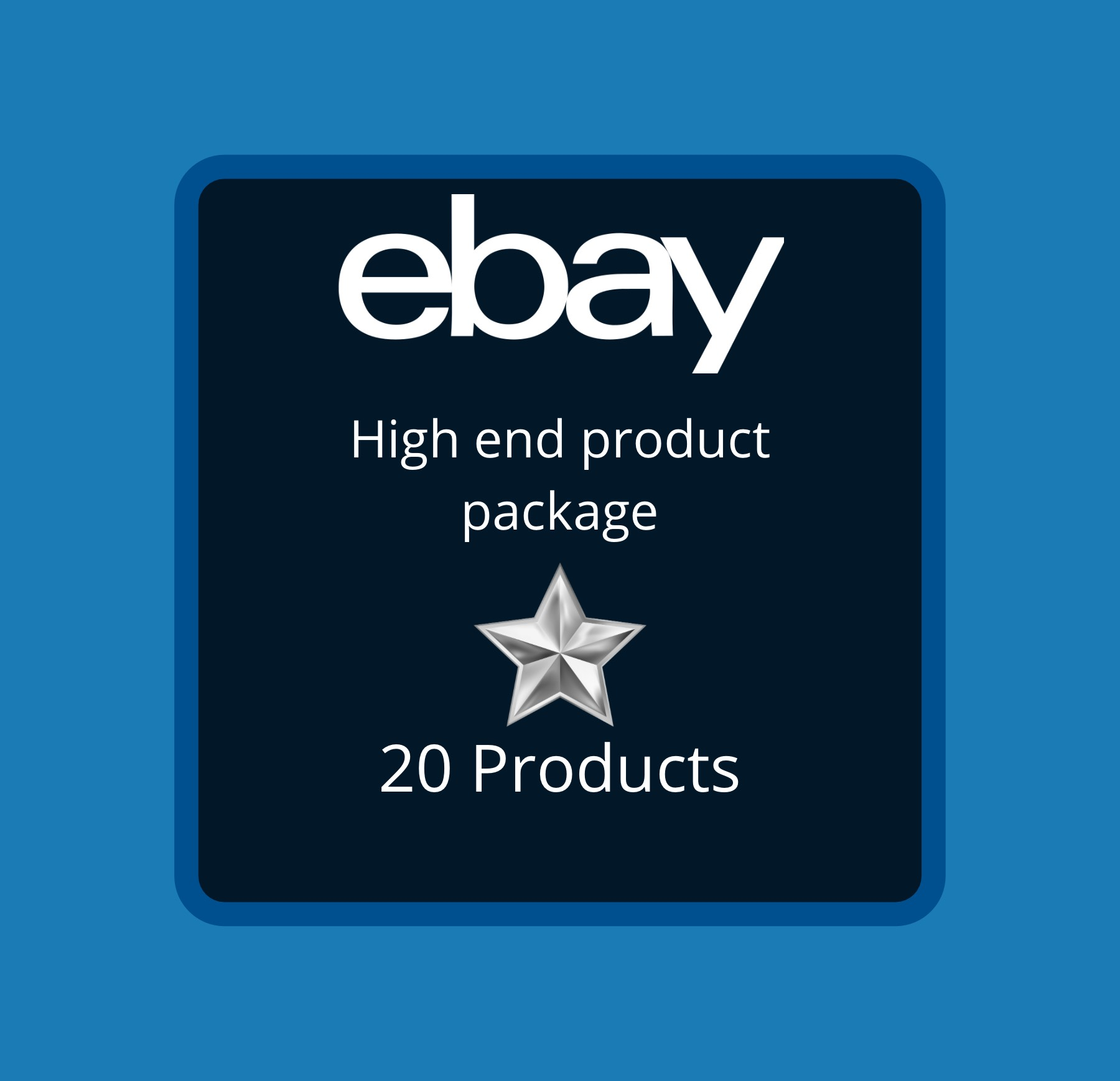 20 High end Ebay Dropshipping Product Package for your