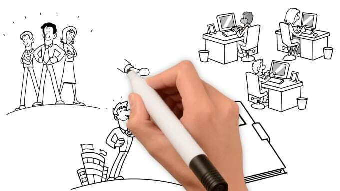 create amazing whiteboard explainer video animations