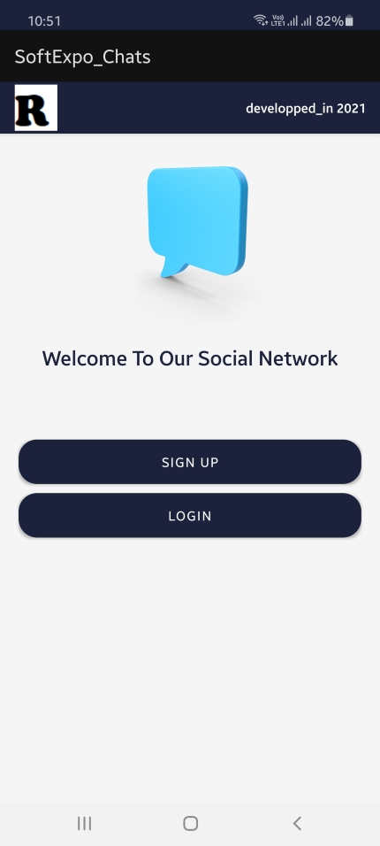 Softexpochats A Chatting App + Private Network