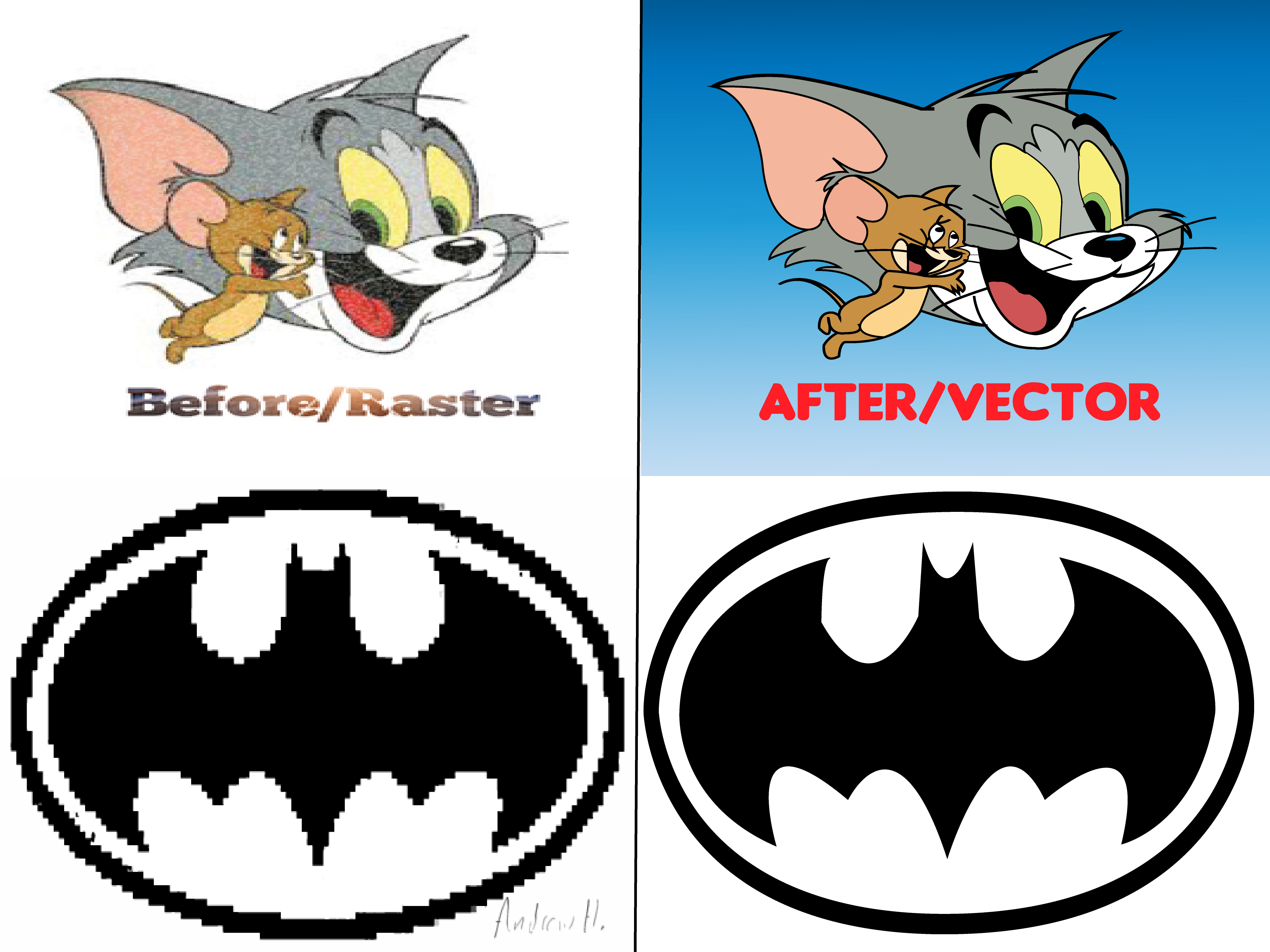 I will vectorise,  convert jpg,  png to vector,  vectorize logo