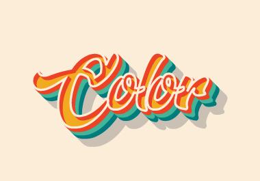 I will create a typography logo,  Tshirt design,  clothing design