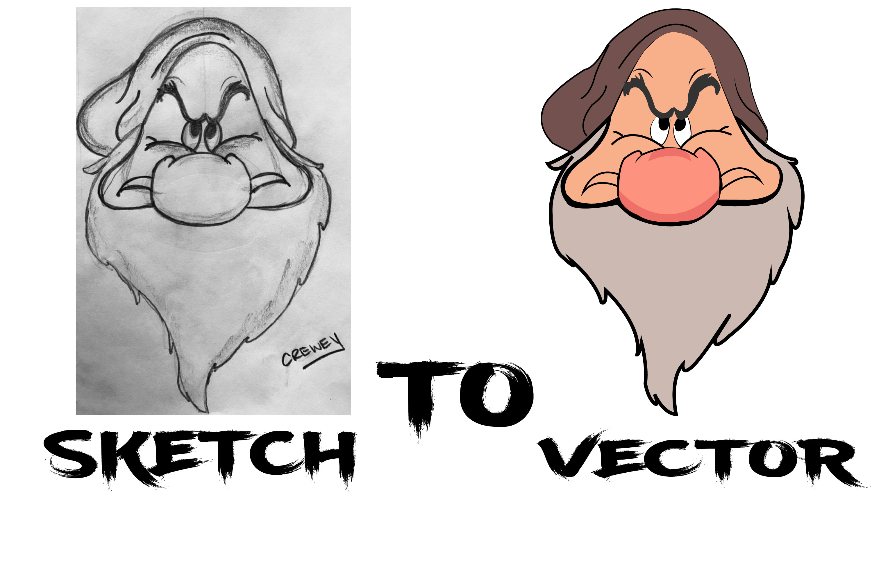 I will do vector tracing your logo or sketch to vector