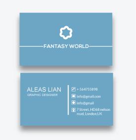 I will create simple Business Card design