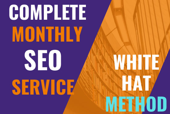 Offer a Complete Monthly SEO Service with On page for Google Top Ranking