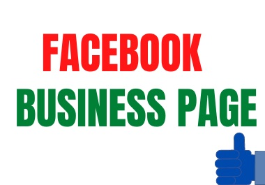 i will create and manage facebook business page