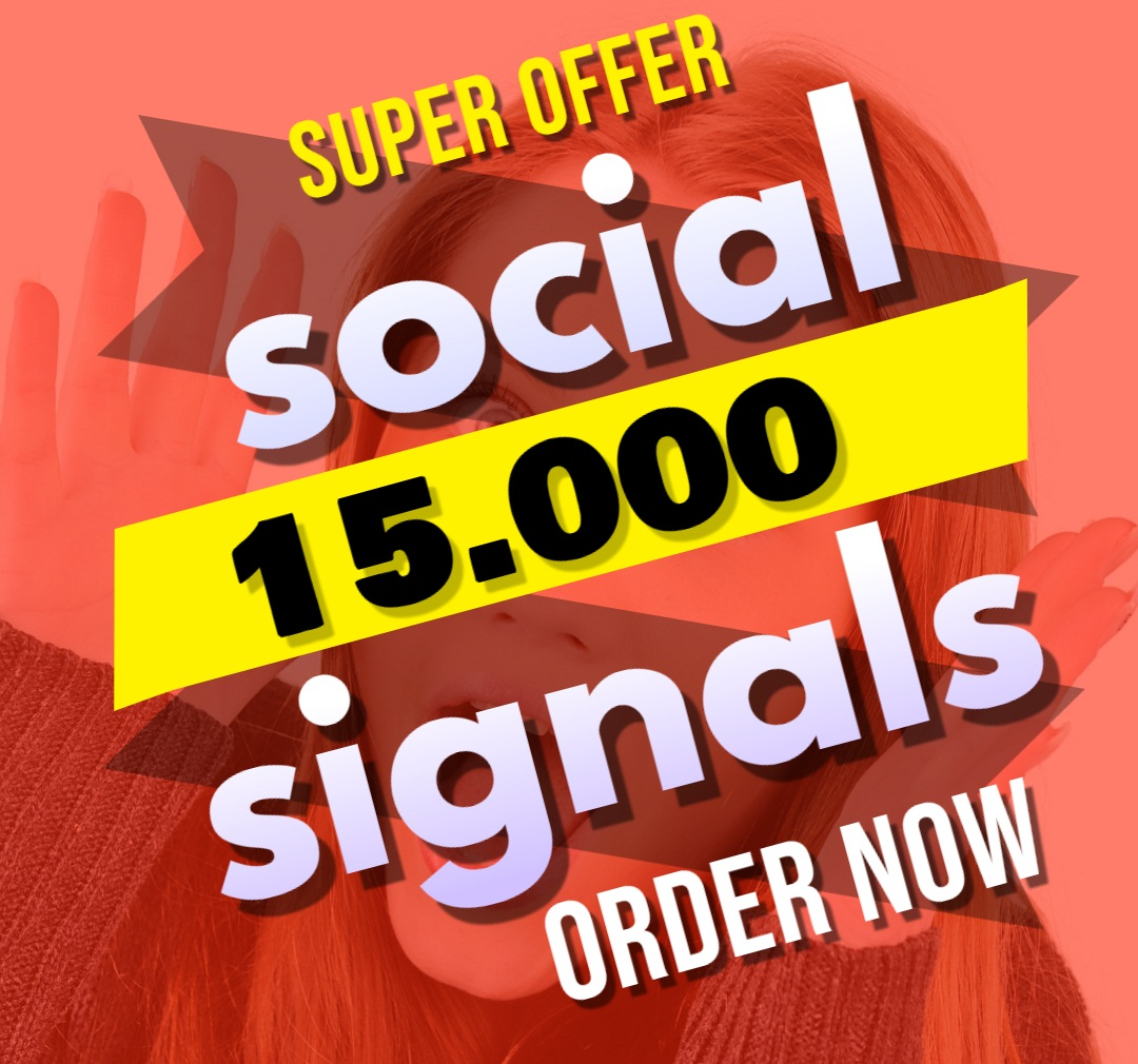 Great Top 1 Powerful Platform 15,000 SEO Social Signals Share Bookmarks Important Google Ranking