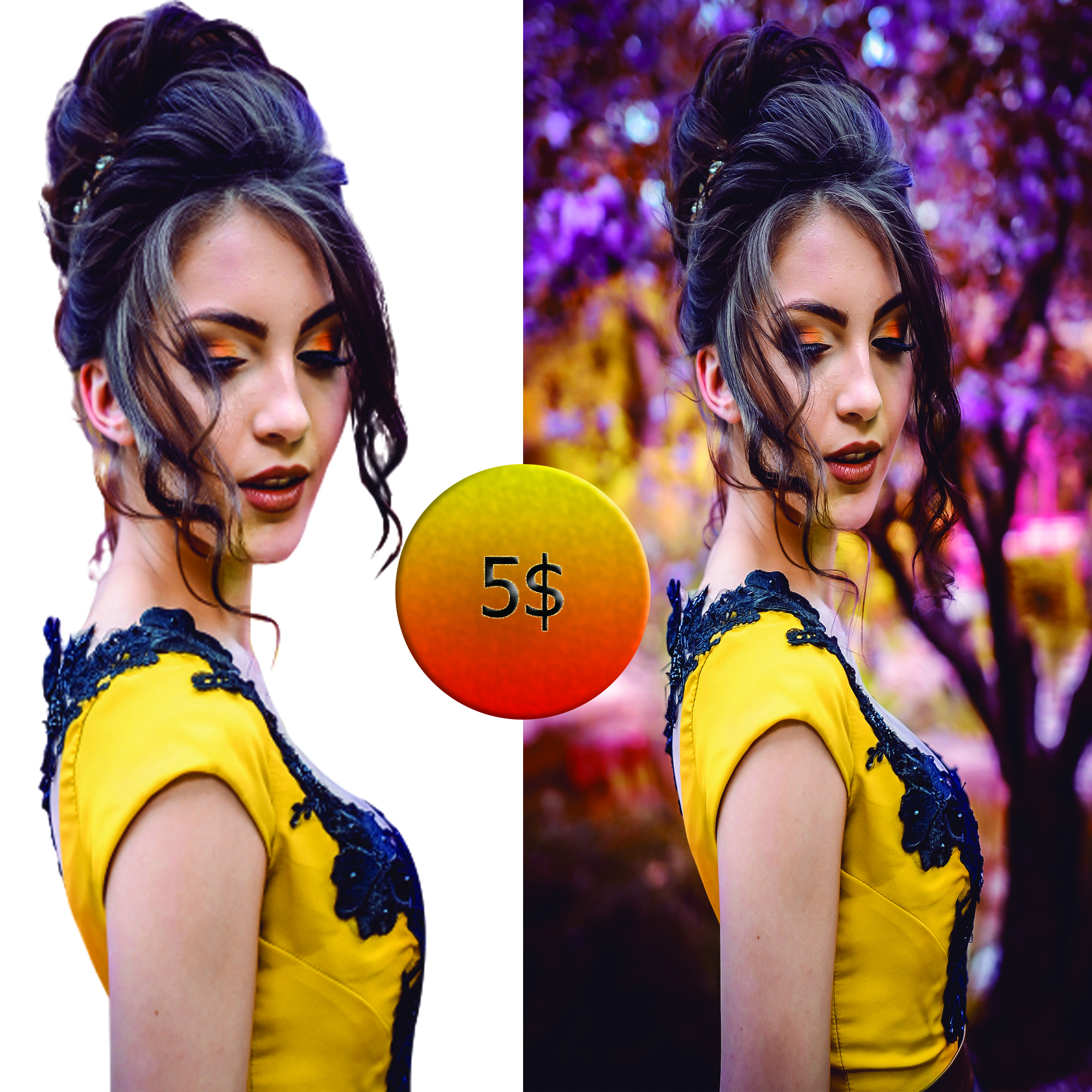 I will do professional background removing 10 images.